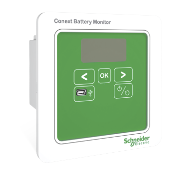 Conext Battery Monitor: click to enlarge