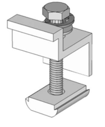 End Clamp 40mm: click to enlarge